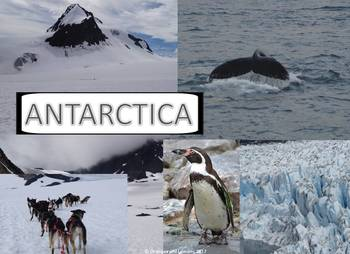 My Book of Antarctica  - The Study of a Continent