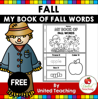 My Book of Autumn Words FREE