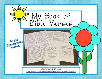 My Book of Bible Verses