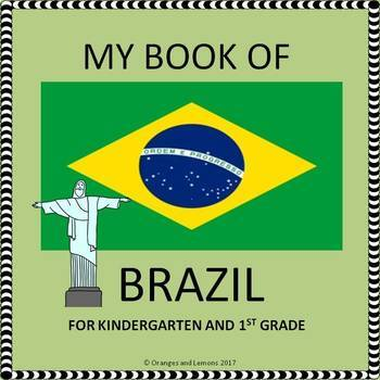 My Book of Brazil  - The Study of a Country