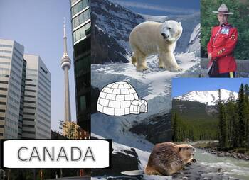 My Book of Canada  - The Study of a Country