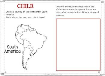 My Book of Chile  - The Study of a Country