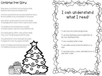 My Book of Christmas Songs and Poems + 5 ELA Activity Pages