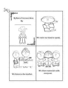 My Book of Classroom Rules