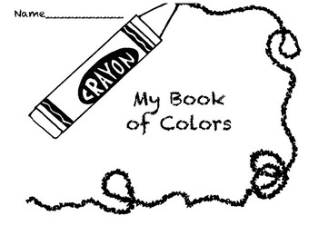 My Book of Color Words