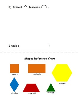 My Book of Composite Shapes Using Pattern Blocks