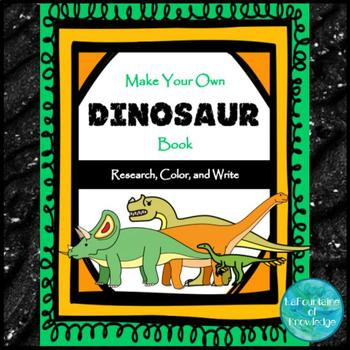 My Book of Dinosaurs - Science Research Project