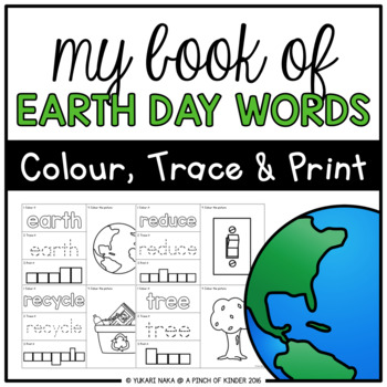 My Book of Earth Day Words