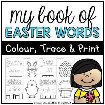 My Book of Easter Words