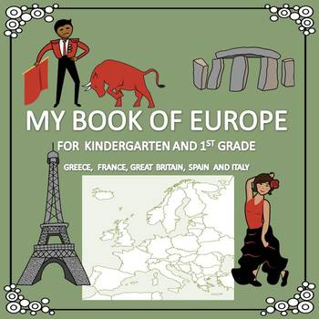 My Book of Europe  - The Study of a Continent