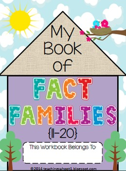 My Book of Fact Families (11-20)