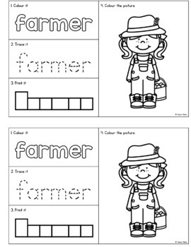 My Book of Farm Words