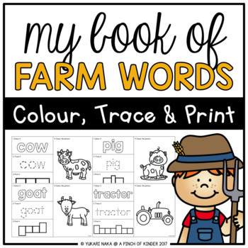 My Book of Farm Words