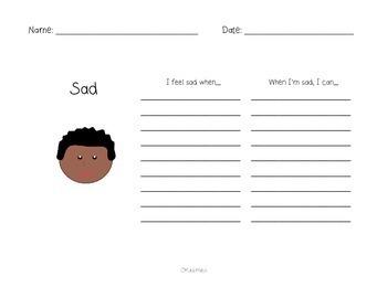 My Book of Feelings: A Social Skills Freebie!