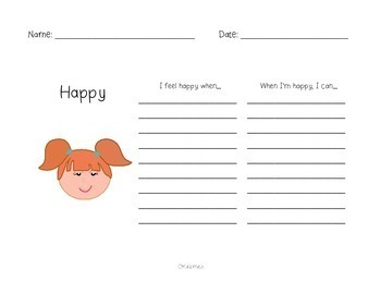 My Book of Feelings: A Social Skills Freebie!