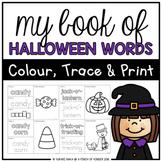 My Book of Halloween Words