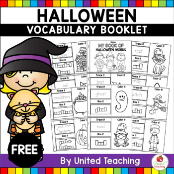 Halloween Activity: Book of Halloween Words (FREE)