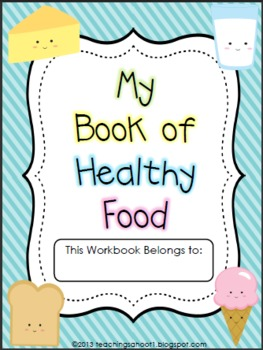 My Book of Healthy Food