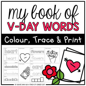 My Book of Holiday Words BUNDLE