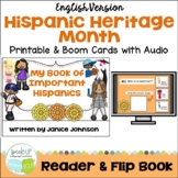 My Book of Important Hispanics {Hispanic Heritage Month} Readers & Flip book
