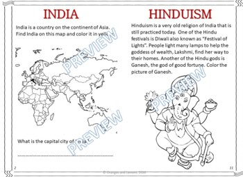 My Book of India  - The Study of a Country