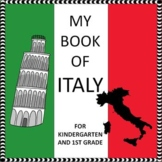 My Book of Italy  - The Study of a Country