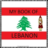 My Book of Lebanon - The Study of a Country