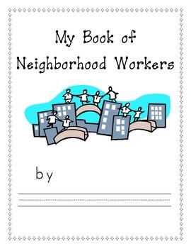 My Book of Neighborhood Workers/Community Helpers