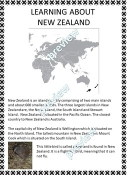 My Book of New Zealand  - The Study of a Country
