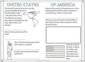 My Book of North America  - The Study of a Continent