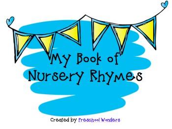 My Book of Nursery Rhymes {UPDATED!}