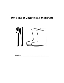My Book of Objects and Materials