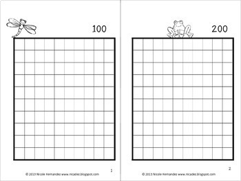Writing Numbers 1-1000