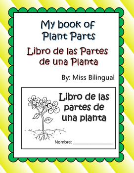 My Book of Plant Parts / Libro de las Partes de una Planta / Dual Language