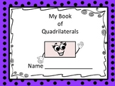 My Book of Quadrilaterals and Shape Review