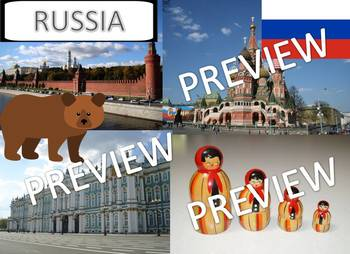 My Book of Russia  - The Study of a Country
