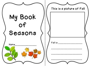 My Book of Seasons!
