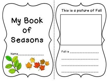 My Book of Seasons!