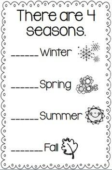 My Book of Seasons