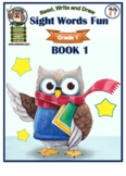 My Book of Sight Words for First Grade - Book 1