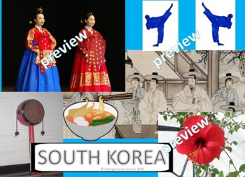My Book of South Korea  - The Study of a Country