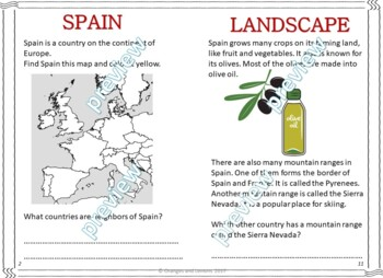 My Book of Spain  - The Study of a Country