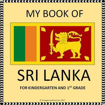 My Book of Sri Lanka  - The Study of a Country
