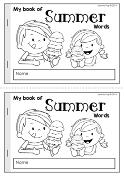 My Book of... Summer Words
