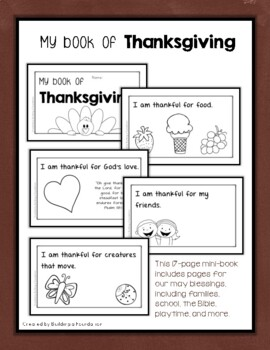 My Book of Thanksgiving