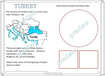 My Book of Turkey  - The Study of a Country