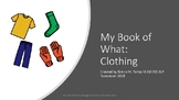 My Book of What: Clothing Smarty Symbols