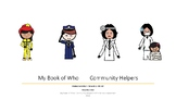 My Book of Who Community Helpers Smarty Symbols