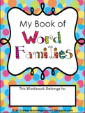 My Book of Word Families (short vowels)