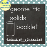 My Booklet of Geometric Solids - Print - Distance Learning